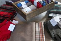 Cashmere Collection / Carefully crafted cashmere clothing from Johnstone's of Elgin presented in the unique local outlet that is Luss general store