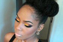 Maquiagem Pele Negra / Álgum dedicado à maquiagens para pele negra.
