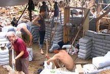 Earth bags - buildigs