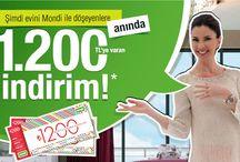 Mobilya Kampanyaları / Türkiye'deki marka mobilya şirketlerin kampanyalarının sergilendiği pano