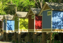 Stay in Eureka Springs / Premier lodging at historic hotels, cottages and cabins, tree houses, whole homes, B&B's and more. Stay with family, friends or your sweetie and be right in the heart of Downtown Eureka Springs, Arkansas / by Main Street Eureka Springs