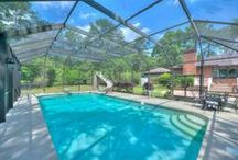 Swimming Pool Homes in Tallahassee Florida