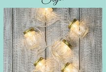 String Lighting / Glimmer String Lights all and string lighting of all different colors, seasons and kinds