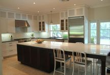 Kitchen islands / by Robin Sells