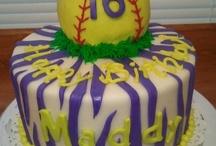 Birthday Party - Softball theme