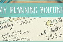 Planning & Journaling