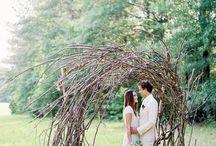 woodland wedding