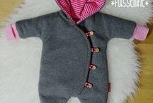 Babyklær ull.