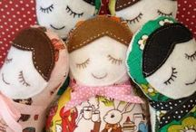 Dolls and doll clothes | sewing patterns