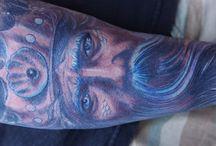 Tattoos ideas / disney, aquarela, lindíssimas, darness, creature, witch, succubus, horn.