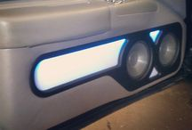 """Doors in the 96 impala ss remolded with 2 6"""" and lit panels"""