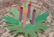 Advent Wreaths - My Catholic Family / Ideas for celebrating Advent with your family using a traditional or non-traditional Advent wreath. / by Catholic Mom