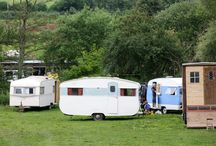 Vintage caravans and live-in vehicles