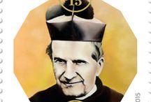 Cod. 625 - Bicentenario della nascita di Don Bosco / Emissione filatelica 23 ottobre 2015 - 2alori da €1.20 e €2.40 - Fogli da 20 - Tiratura 40.200