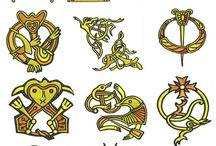 Viking broderi