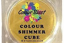CB Colour Shimmer Cubes