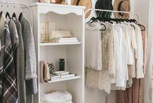 Closets / closet organization, shelving, shelves, diy, coat hangers, shoe organization, high heel organization
