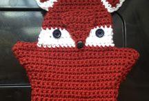 Beings of crochet