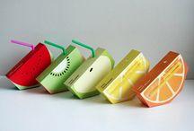 Packaging de zumos / Diseños de envases para zumos y jugos de frutas
