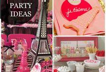Idées fête - Party ideas
