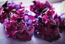 Wedding bouquet / Purple  / by T Sun