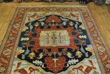 Special Heriz Offers / Heriz rugs in different sizes, colors and patterns.