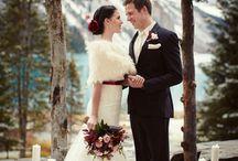 Winter wedding Rockies