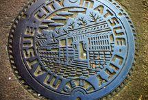 Manhole covers  マンホールの蓋達 / 各地の表情豊かなマンホール!