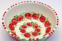 "Familia Rojo-Verde ""Müslischüssel"" / Müslischüsseln, Bowls"