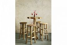 Wooden Bar Set | Reclaimed Bar Set
