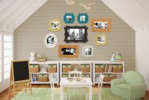 Playroom ideas / by Stephanie Moudy