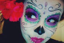 maquillaje de catrina niña