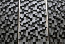 """Sound Diffuser """"City"""" / Room Acoustics - Sound Diffuser: ALPHAcoustic- City  A 2-Dimensional binary array diffuser with deep cavities and wells that provide a wide sound diffusion bandwith."""