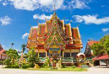 Thailand / Welkom in het land van de glimlach. Ontdek dit magische land in het zuidoosten van Azië, met z'n vele mystieke tempels en culturele schatten, omgeven door schitterende natuur.
