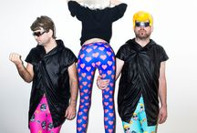 Nushi x Soerii & Poolek / Soerii & Poolek wanted some crazy leggings for their gigs. So we did it. ;)