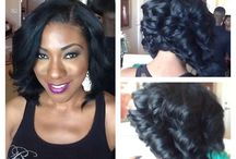Hairstyles / by Patrice Robinson