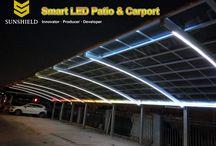 LED lighting - LED Carport and Patio