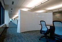 Education - Offices & Workstations / Private and open offices and support spaces for faculty and administration