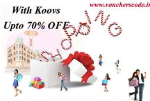 Koovs Coupon Code Collection / Use Koovs Coupon Codes and Vouchers for online shopping from voucherscode.in