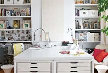 Creative Spaces / A place in the house to be creative- home office!