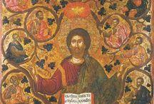 Cristo Vera Vite / Icone di Cristo Vera Vite