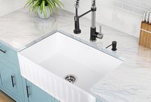 5 Reasons to Choose a Farmhouse Sink / by eFaucets.com