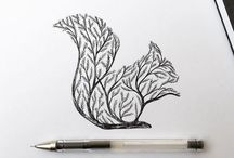 Животные/ деревья))
