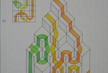 Esercizi  classe seconda / Liceo Artistico Medardo Rosso-Lecco, disegno geometrico