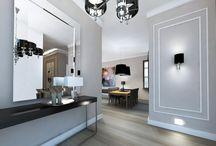 Mieszkanie styl glam