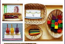 Home School: Montessori Trays
