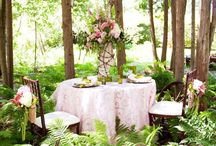 Tables and set up / Outdoor, backyard, garden  / by Giovanna Gonzalez