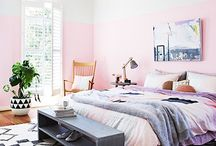 Colour Trend: Pretty in Pink / Warm blushes of colour to your throws, walls and accessories. It's a fashionable way to add colour to your living space, especially during the cool winter months.
