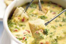 Recipes to try - fondue