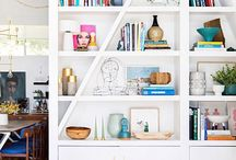 Shelf Life / How to style your shelves.